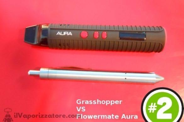 Grasshopper Aura vaporizzatore