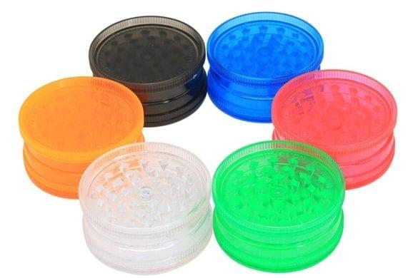 grinder acrilico plastica