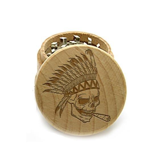 grinder di legno